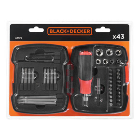 Product Image of FASTENING DRIVER AND RATCHET SET 43PC