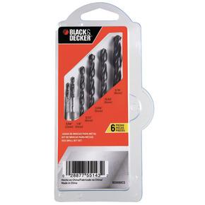 Product Image of Juego Clip de Brocas Metal 6 pzas