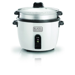 Product Image of 2.5 Ltr. Non Stick Rice Cooker with Glass Lid