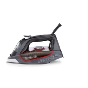 Product Image of 2200W Steam Iron with Ceramic Soleplate