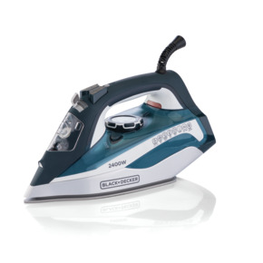 Product Image of 2400W Steam Iron with Auto Shutoff and Ceramic Soleplate