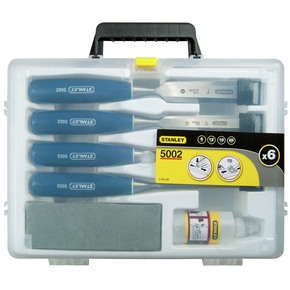 Product Image of 5002 CHISEL SET 6 12 18 25 OIL AND STONE
