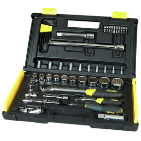 Product Image of 1/4/ 1/2-inch Micro Tough Square Drive Socket Set (50 Pieces)