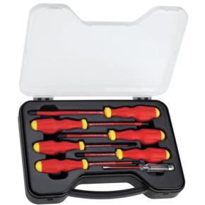 Product Image of Juego de 7 Destornilladores Aislados 1000V MaxSteel™