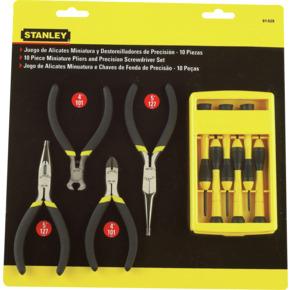 Product Image of Juego de Alicates Miniatura y Destornilladores de Precisión0