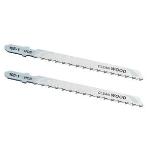 Product Image of 100mm 2.5mm Diş HCS Ahşap Kesim T Giriş Dekupaj Testere (2 adet)