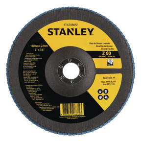 "Product Image of Flap DISC 7 ""recordar 7/8"" (180 recordar 22,23 mm) GRANO 80"