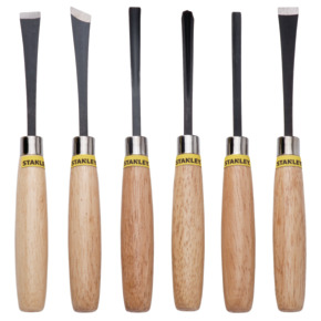 Product Image of WOOD CHISEL 1/4 SET 6-PIECE