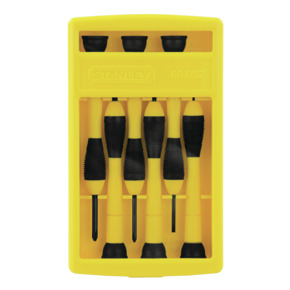Product Image of SCREWDRIVER SET PRECISION BI- MAT/6PC