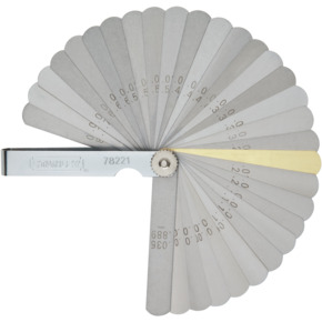 Product Image of COMBINATION FEELER GAUGE 32BLADES