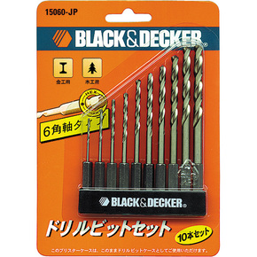 Product Image of 10PC HSS DRILL BIT W/ HEX SHANK SET