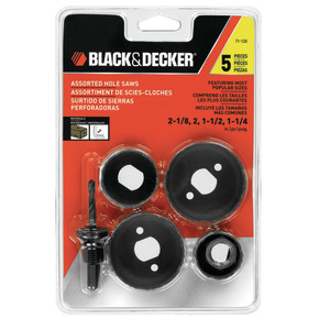 Product Image of Set de Brocas Sierras 5 pzas