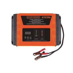 Product Image of Cargador de Baterías Inteligente de Control Automático y Manual 4 / 12 / 25Amp