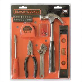Product Image of Kit de Ferramentas Casa e Escritório 36 pc