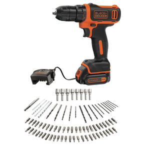 Product Image of 10.8V Ultra Compact Lithium-ion Drill Driver with 80 Accessories in Tin