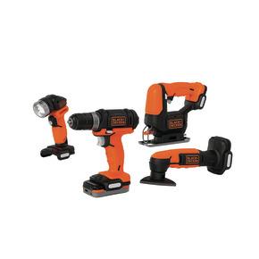Product Image of GoPAK 10.8V 4-Tool (Hammer Drill, Sander, Torch, Jigsaw)