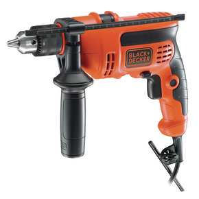 Product Image of 710W VSR 13mm Keyed Spindle Lock Hammer Drill with Kitbox