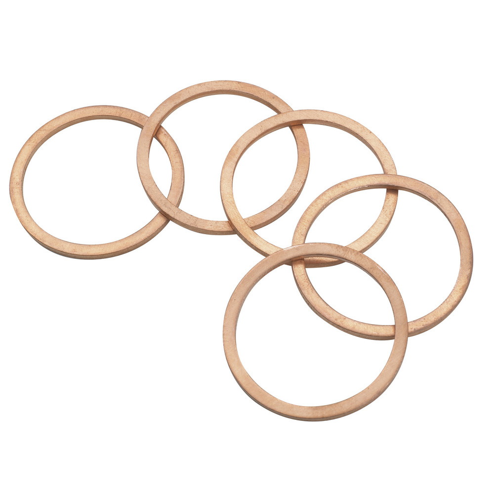 Комплект из 5 медных колец D215854 Image