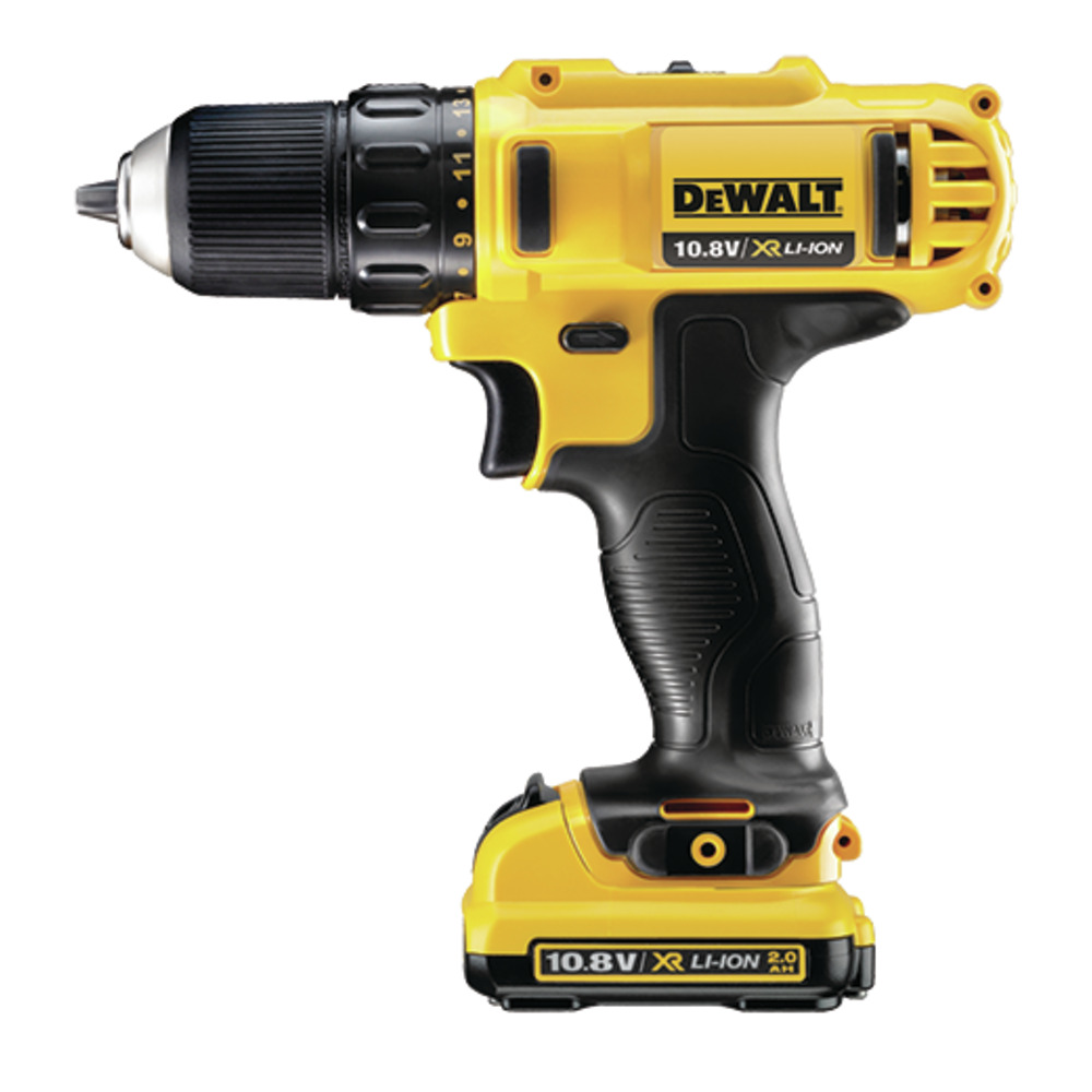 10mm Compact Drill Driver 2.0Ah DCD710D2 Image
