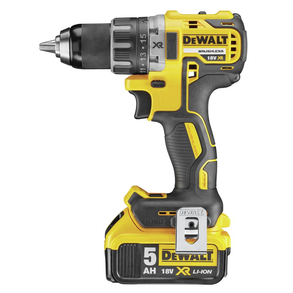 18V Li-ion Brushless Compact Drill Driver, 5.0Ah DCD791P2 Image