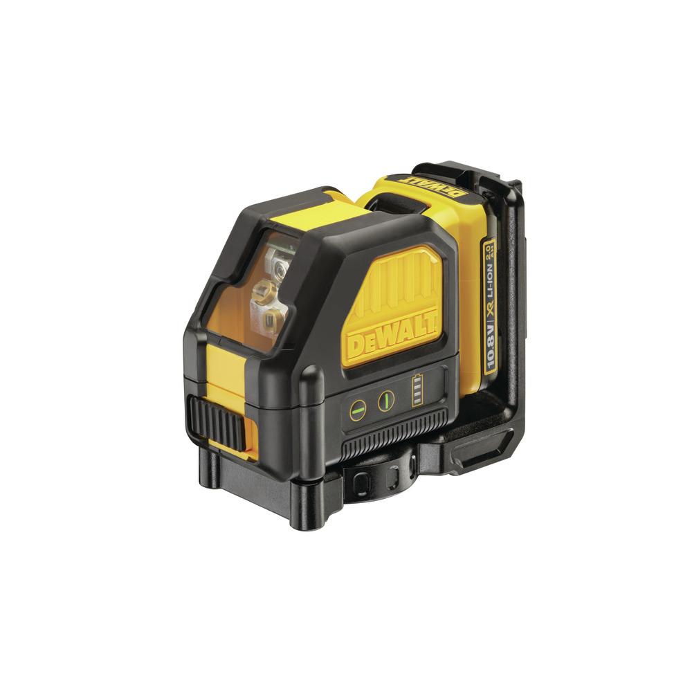 Self Levelling Cross Line Laser 10,8V DCE088D1G-QW Image