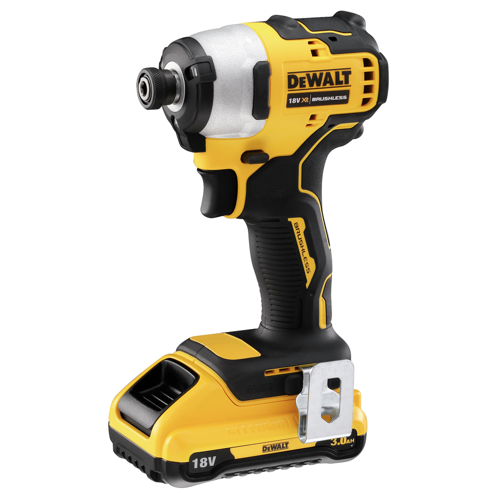 18V XR Brushless Ultra Compact Impact Drill Kit DCF809D2T-QW Image