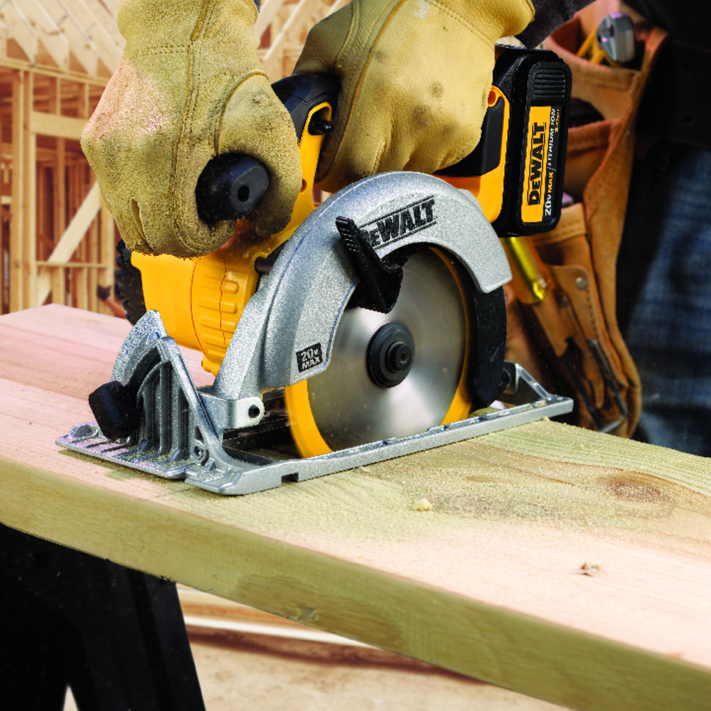 18V锂电充电式165mm电圆锯(木工) 单机 DCS391 Image