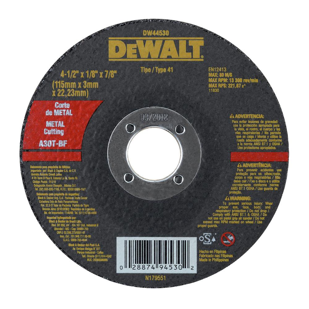 Abrasivos de corte de metal 0e7acf1e-1fc1-43e5-bef3-a897010a5b85 Image
