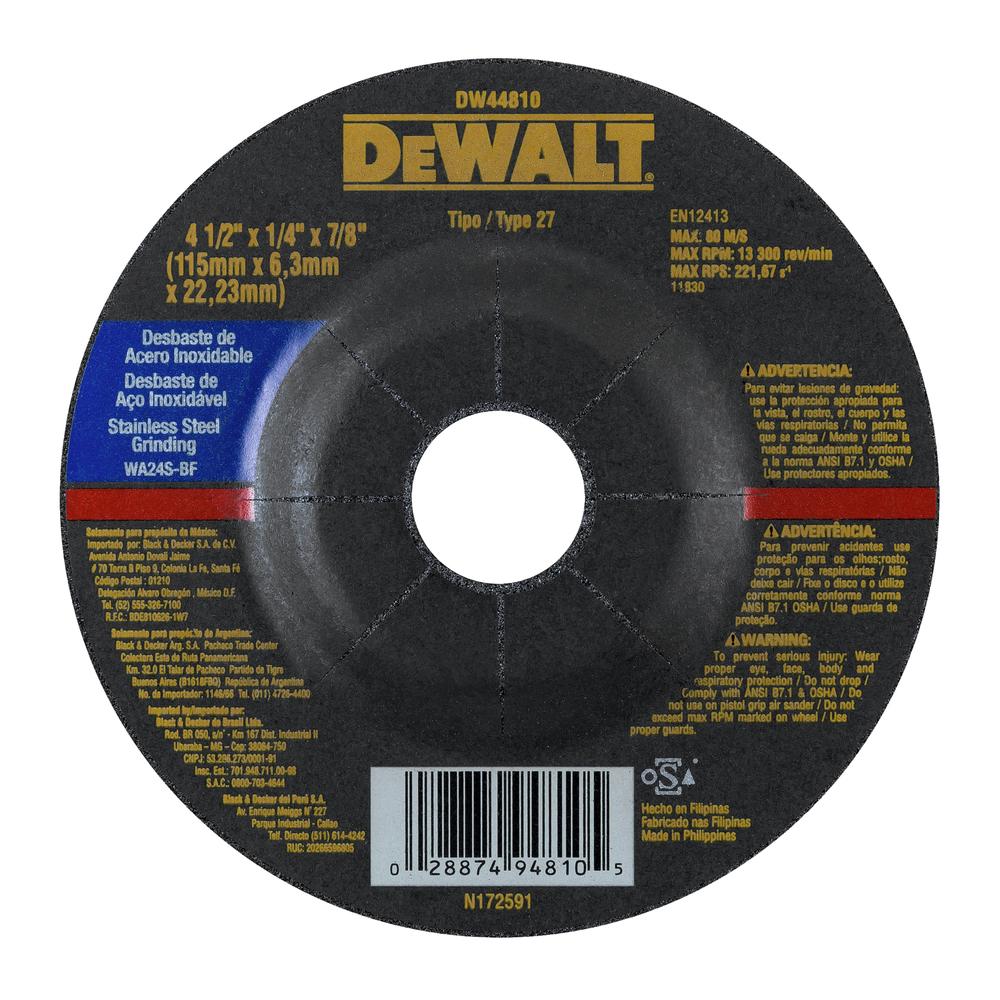 Discos Abrasivos Desbaste de Inox 694e0397-d7d7-4121-b76f-a89800e428bc Image