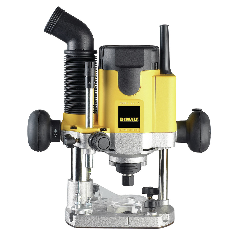 """1100 W - ¼"""" (6-8 mm) Variable Speed Plunge Router DW621-QS Image"""