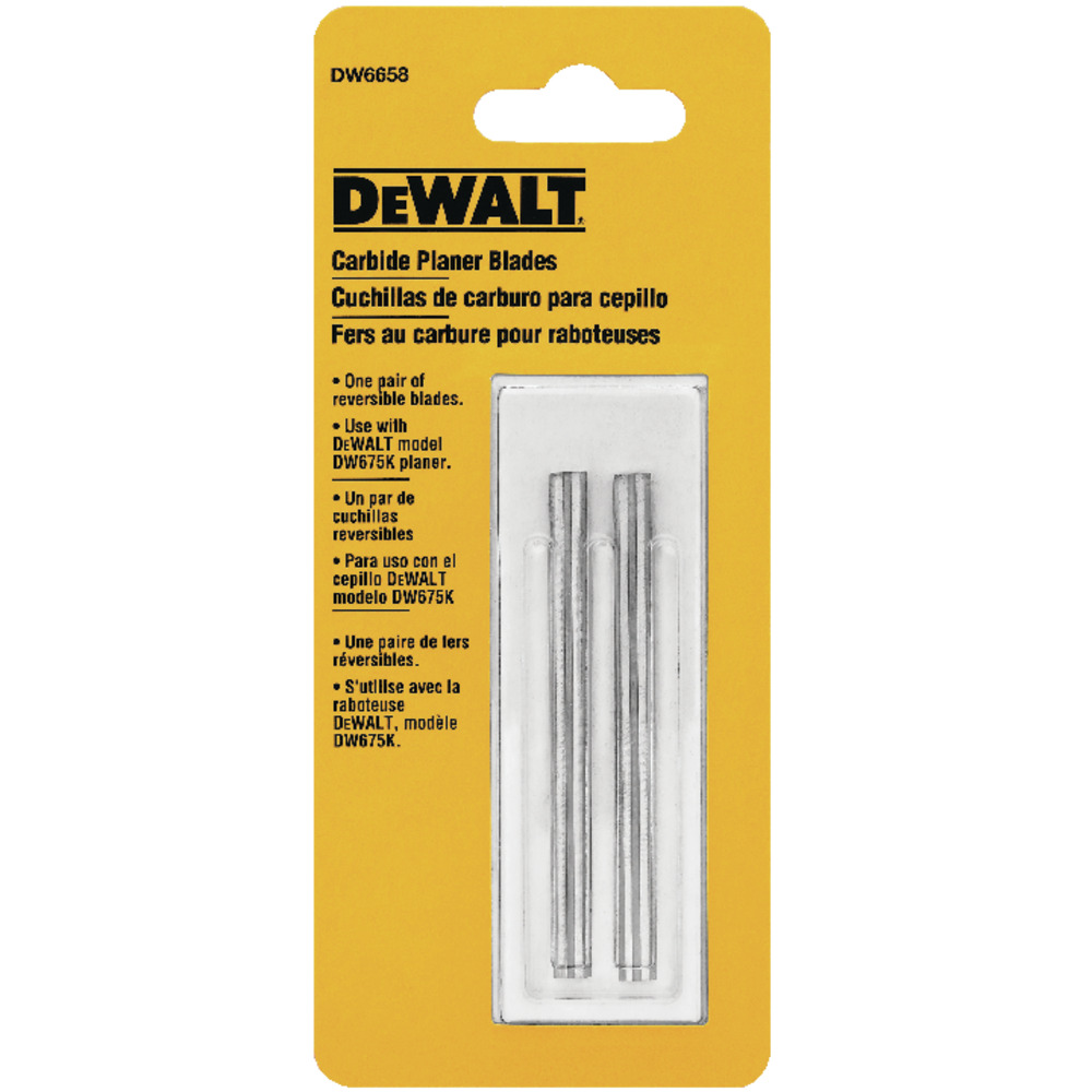 Par de lâminas de wídea para plaina DW675 e STPP7502 DW6658 Image