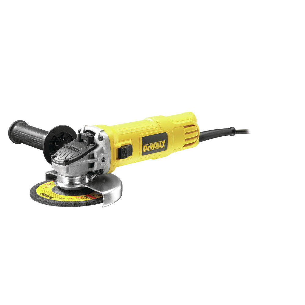 900W - 125mm Slide Switch Small Angle Grinder DWE4151-QS Image