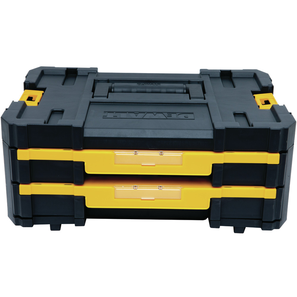 "Organizador TSTAK Nº 4 Com Fecho Metálico Dewalt 16.5"" DWST17804 Image"