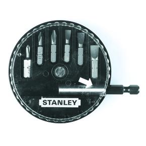 """Product Image of Набір з 6-ти вставок з шестигранником 1/4 """"і магнітного утримувача 1-68-735, 737, 738, 739"""
