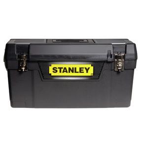 "Product Image of Ящик для інструменту ""Stanley"" пластмасовий з металевими замками 1-94-857, 858, 859"