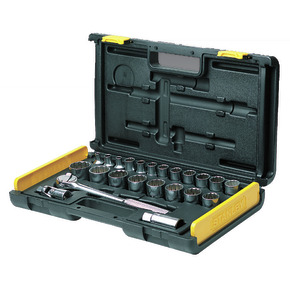 Product Image of SOCKET SET 1/2 SQ. DR 27PC-12PT MET