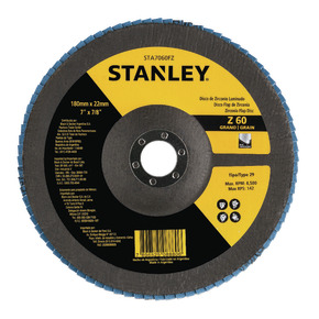 "Product Image of Flap DISC 7 ""recordar 7/8"" (180 recordar 22,23 mm) GRANO 60"