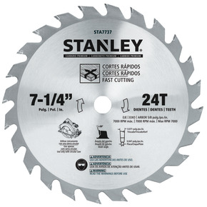 "Product Image of DISCO de SIERRA 7-1 / 4"" 24T-Carded"