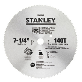 "Product Image of Disco de SIERRA LUN HSS 7-1 / 4"" 140T-Carded"
