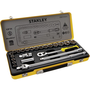 Product Image of 24PCS 1/2 6PTS SOCKET SET IN METAL TIN