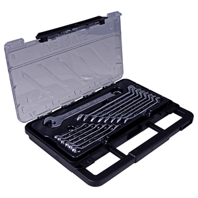 Product Image of Jogo De 15 Chaves Combinadas Estriadas Anguladas Métricas Em Estojo