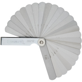 Product Image of METRIC FEELER GAUGE-25BLADES (65MN)