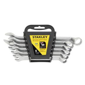 Product Image of Juego de 6 Llaves Combinadas Acodadas Métricas