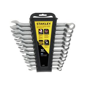 Product Image of Juego de 12 Llaves Combinadas Acodadas Métricas