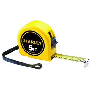 Product Image of STANLEY SHORT TAPE RULES 5M X 19MM